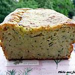 recette Cake aux courgettes & au parmesan