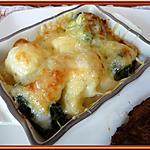 recette Gratin de choux fleur et brocolis