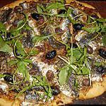 recette Pizza aux sardines(façon pissaladière)