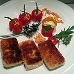 recette Croquettes au fromage
