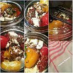 recette Méli-mélo de reste à l'huile d'olive, stérilisation