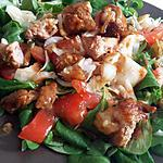 recette Salade a la viande mariné
