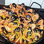 recette Notre Paella Familiale