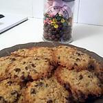 recette Cookies aux pépites de chocolat et aux corn flakes