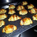 recette Mini-croissants *apéritif* au surimi-boursin