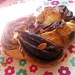 recette Couronne tréssé au nutella