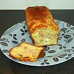 recette cake au chevre, jambon et curry