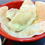recette raviolis vapeur saumon champignon