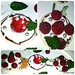 recette Tartines aux yaourt et fruits