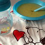 recette Purée bébé pomme de terre courgette colin