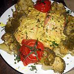 recette Pavé de saumon sauce citonnée