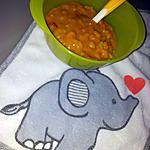 recette Purée paella *Pour Bébé*