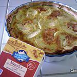 recette Tarte au maroilles et à la Pomme