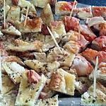 recette Duo de Pizzas maison apéro de Mamie