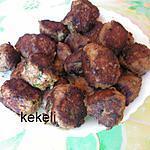 recette Boulettes de viande