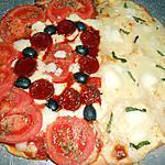recette UN AUTRE DE MES PETITS DUO DE PIZZA
