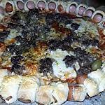 recette Pizza carnivore fourré au saucisses