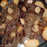 recette Entrecote grillée avec os a moelle