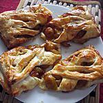 recette feuilletés aux mirabelles  de jackie  et aux peches figues