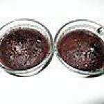 recette muffins au chocolat en poudre