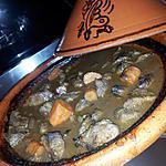 recette Tajine de boeuf bourguignon