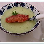 recette Soupe de Pâtisson au chèvre