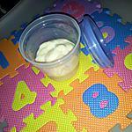 recette Semoule au lait *Pour Bébé*