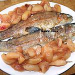 recette Truites aux pêches