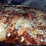 recette Involtini de dinde au chorizo mozzarella gratiné au pesto rosso