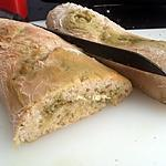 recette Baguette ciabatta au pesto