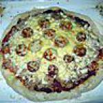 recette pizza thon poulet