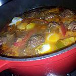 recette Ragoût orientale