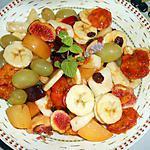 recette SALADE DE FRUITS DE L'AUTONME