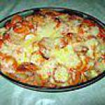 recette gratin de pommes de terre au surimi