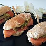 recette Sandwich Ciabatta saumon avocat