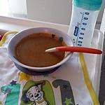 recette Purée bébé poulet au pot