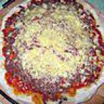recette pizza bologniaise