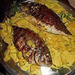 recette Daurade grillées a l ananas