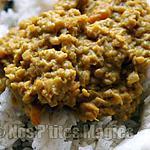 recette Lentilles corail aux épices et lait de coco