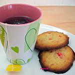 recette biscuits noix de coco-pralines roses