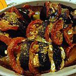 recette aubergines a la façon de  CreMina