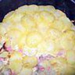 recette pomme de terre rotis au jambon