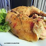 recette Cuisse de poulet en cocotte à l'ail