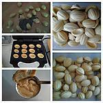 recette El djouza ou gâteau en forme de noix