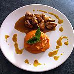 recette Colombo de poulet patate douce au lait de coco