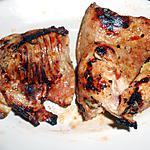 recette PATTES DE LAPIN  GRILLEES (régime) A LA MOUTARDE ET SAUCE PIQUANTE