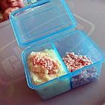recette Purée floraline-jambon *Pour Bébé*