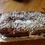 recette CAKE bananes pommes caramelisées