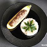recette Courgettes jaunes farcies