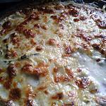 recette Gratin de courgettes et jambon aux 3 fromages